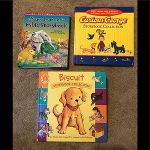 3 Storybook Collection Children's Books